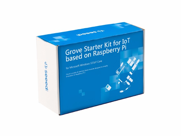 Grove Starter Kit for IoT based on Raspberry Pi [110060482]
